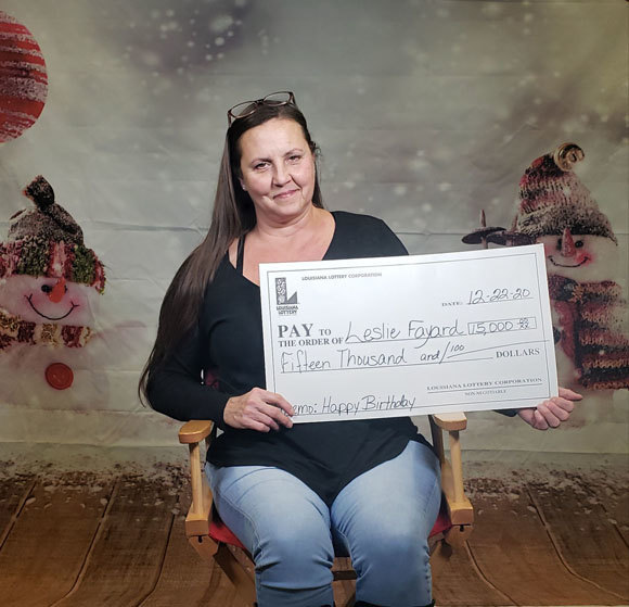 Leslie Fayard's Snowball Buck$ winner photo